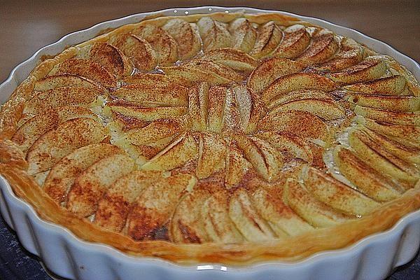 Apfeltarte mit Blätterteig von Kuchenhexe87 | Chefkoch