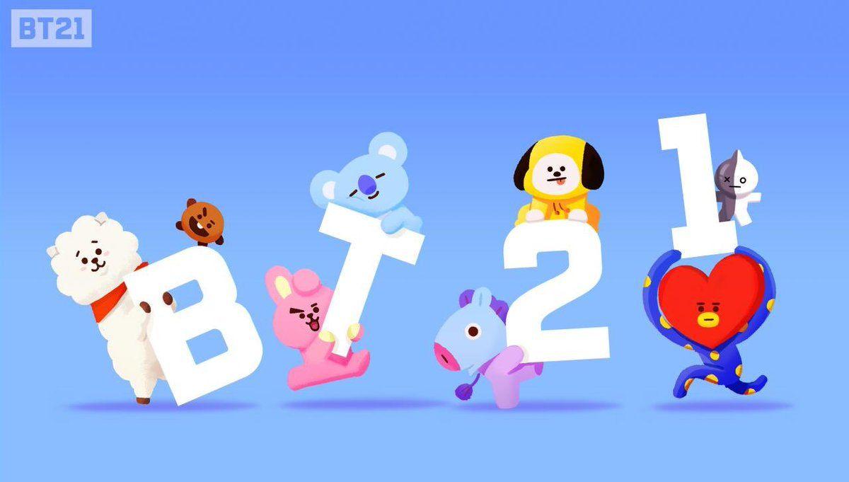 Bt21 Bts Chibi Line Friends Bts Fanart