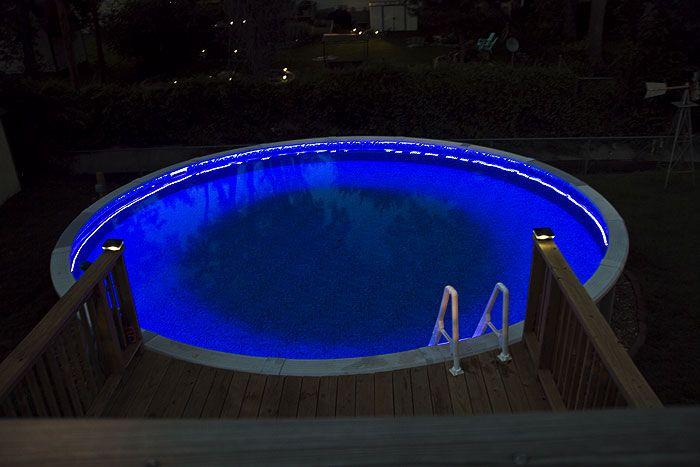 Swimming Pool Rgb Led Strips Swimming Pools Backyard Led