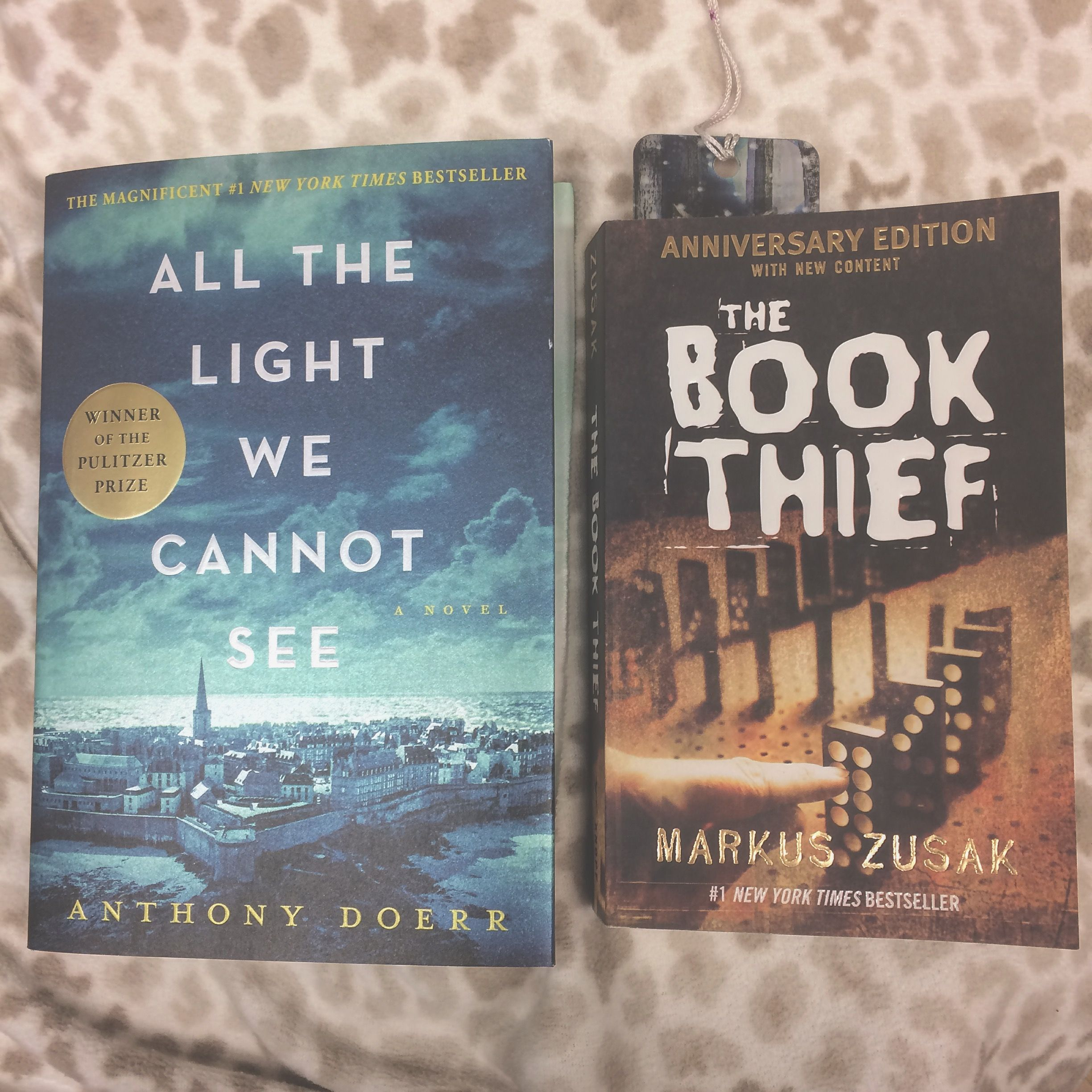 Two new books I bought from my local bookstore. 📚💕✨