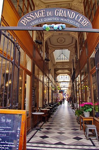 Paris Passage Du Grand Cerf 3 In 2020 Paris Travel Paris City Paris France