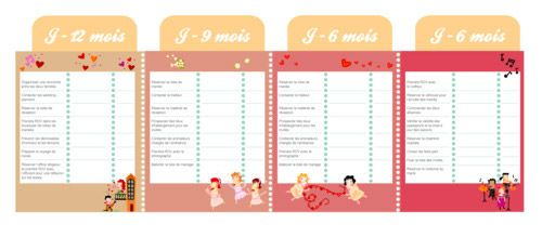 1000 images about organisation mariage on pinterest wedding tes and wedding planning timeline - Liste Prparatif Mariage