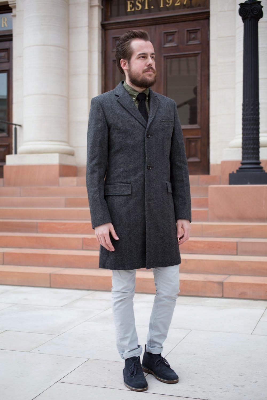 83f49a4e2ab lepoard cape and a top coat | CLARKS ORIGINALS | Grey boots, Gray ...