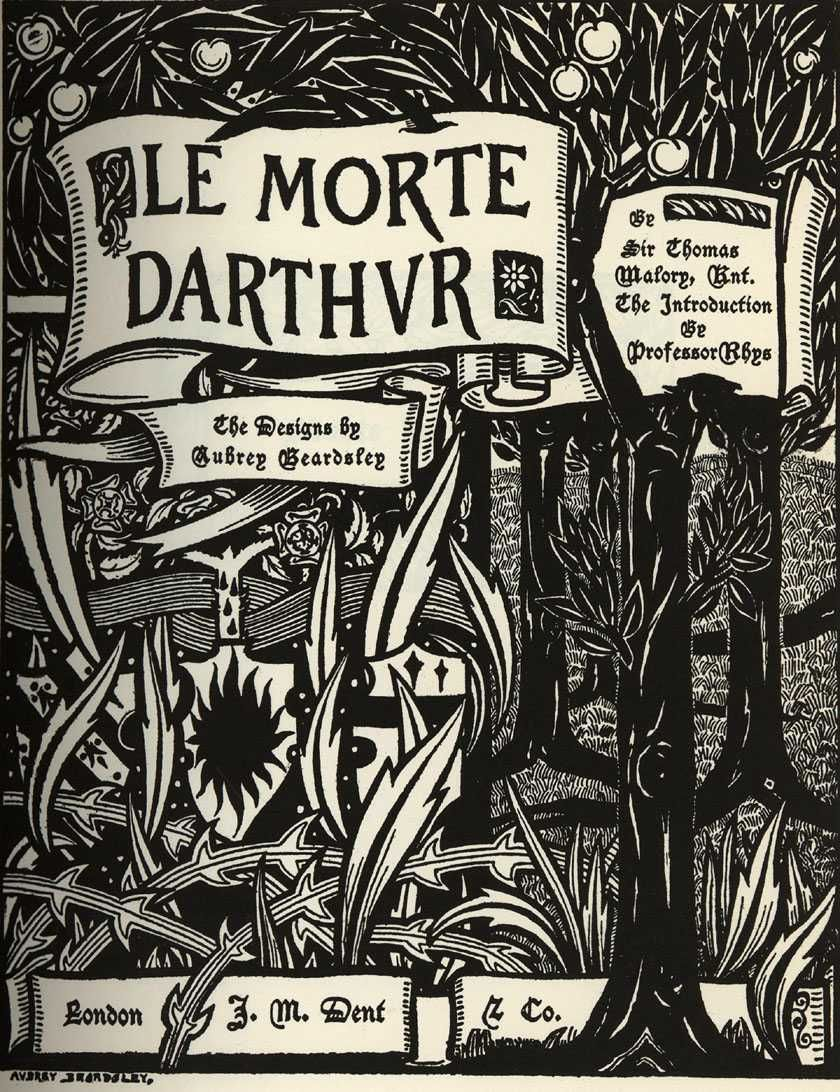 a literary analysis of le morte darthur by sir thomas mallory Morgan le fay, shapeshifter by jill m hebert  to morgan le fay in sir thomas malory's le morte darthur and  efforts are concerned with literary portrayals of.