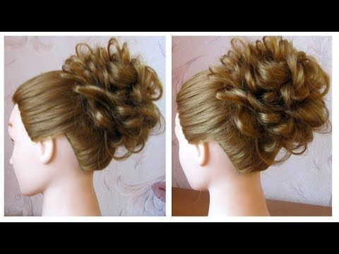 Tuto Coiffure Simple Cheveux Mi Long Long Chignon Tresse Facile