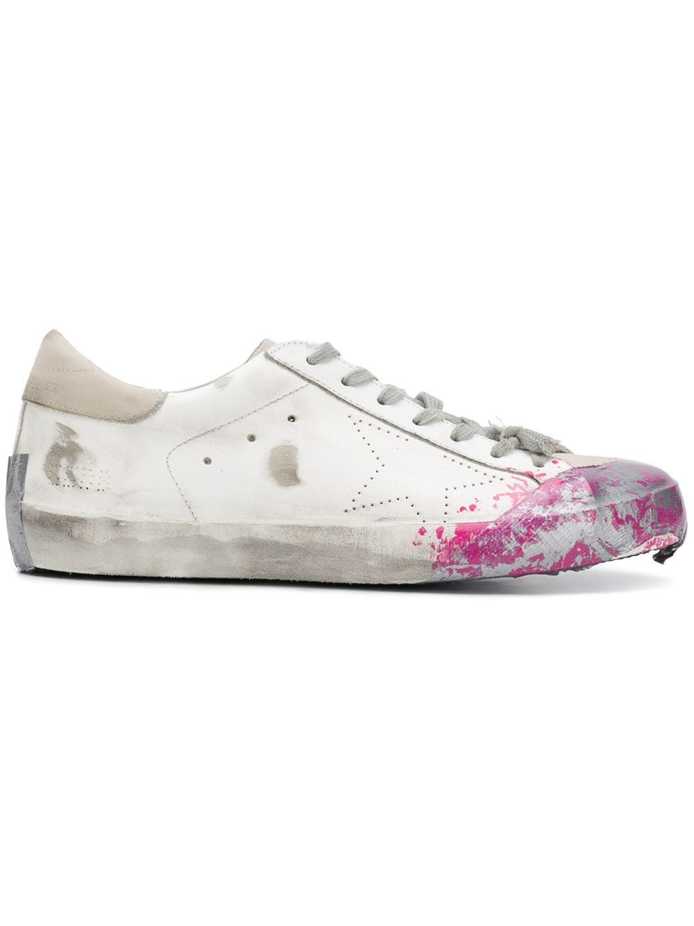 296cd2a31240 GOLDEN GOOSE GOLDEN GOOSE DELUXE BRAND SUPERSTAR SNEAKERS - WHITE.   goldengoose  shoes