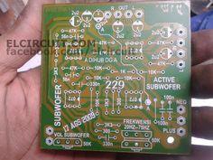 Active Subwoofer Circuit TL082 / TL072 / 4558   Circuit ...