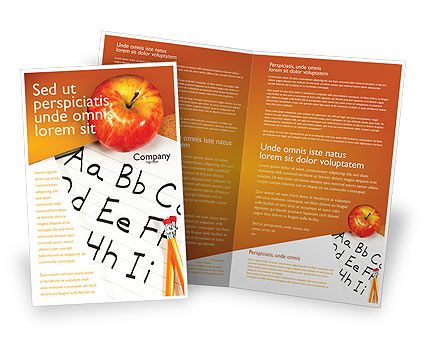 brochure_template_bjpg (425×356) DESIGN Magazine Layouts - school brochure template