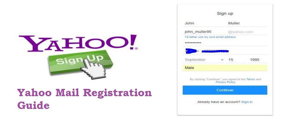 Registration up ymail sign dezidonnelly.com :