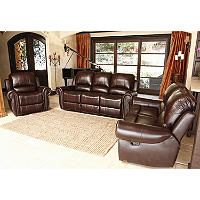 Bentley Recliner Sofa Loveseat And Armchair Set Sam S Club
