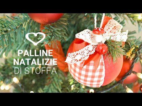 Tutorial come realizzare delle palline natalizie in for Scatole rivestite in stoffa tutorial