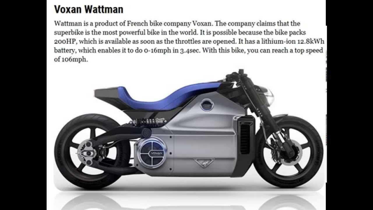 Top 10 Coolest Electric Motorcycles Met Afbeeldingen Motor
