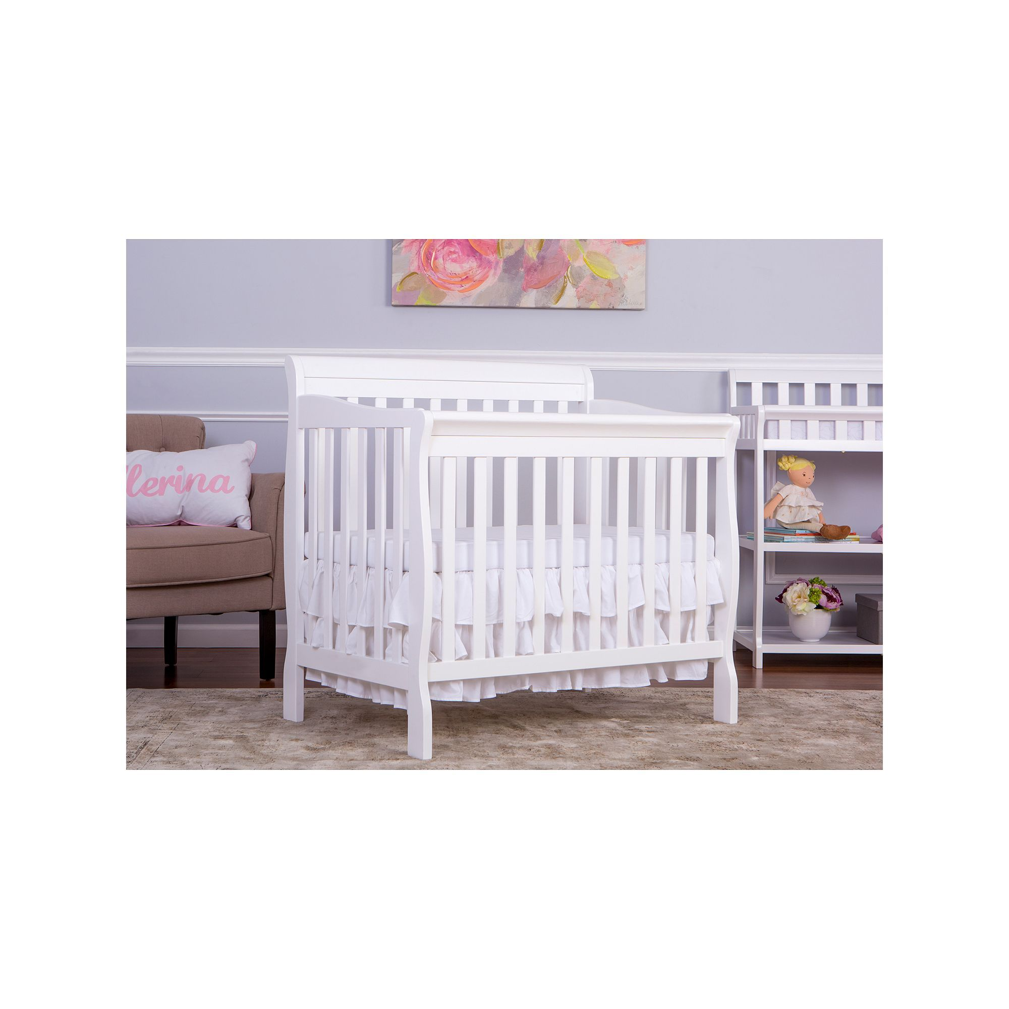 com changer table portofino crib with mini gallery in s espresso combo dream storkcraft convertible cribs walmart decoration baby n best changing