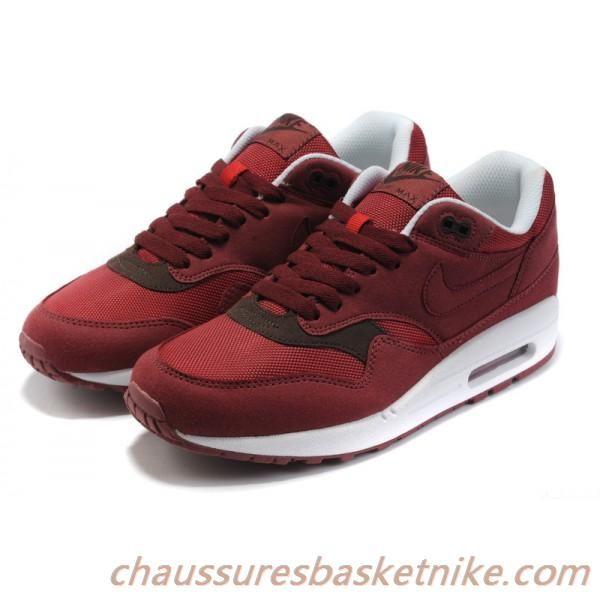 meilleure sélection 6184a e369b Nike Air Max 87 Noir Blanc Marron Chaussures Couple ...