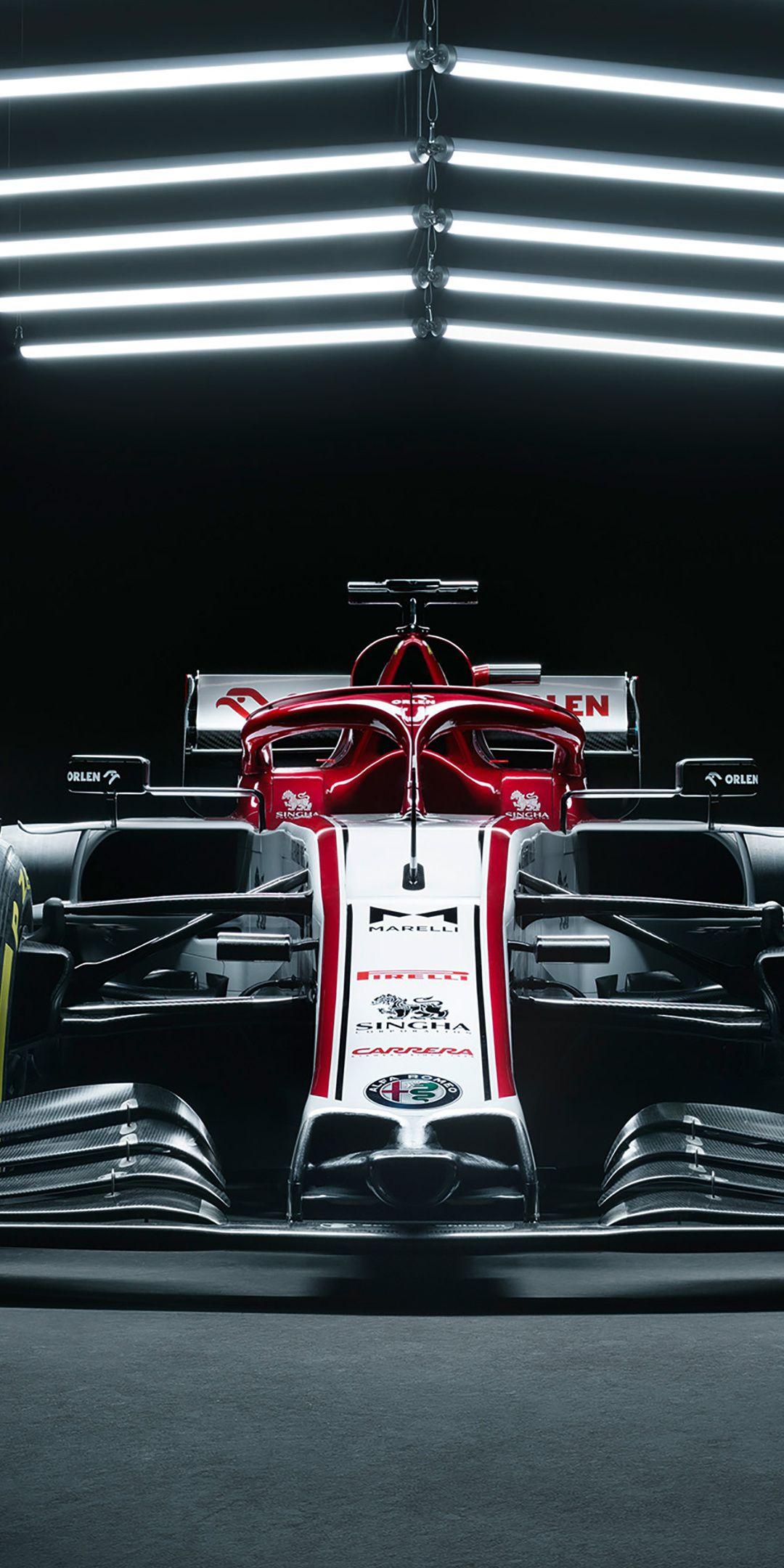 1080x2160 Alfa Romeo Racing C39, 2020, F1 car wallpaper in