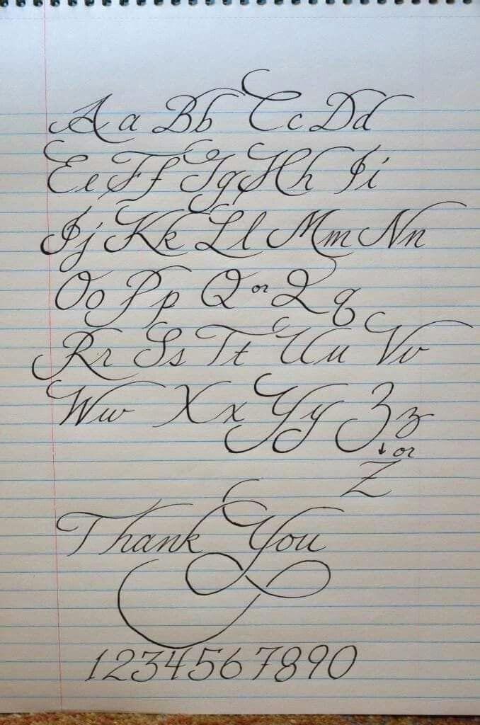 , Handlettering alphabet #calligraphy #alphabet #calligraphy #tattoofonts #simple tattoo fonts, My Tattoo Blog 2020, My Tattoo Blog 2020