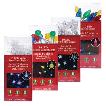 Bulk 10 Bulb Battery Powered Led Light Sets At Dollartree Com Battery Powered Led Lights Led Lights Winter Birthday