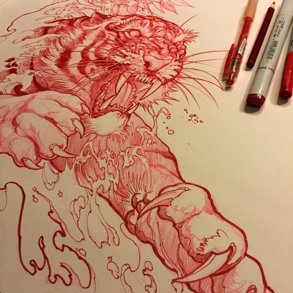 Sketch For A Japanese Sleeve: 11174854_10152678680442364_2861814984248903665_n.jpg (960
