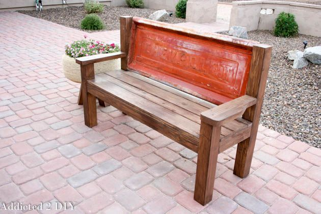 25 diy bench wall