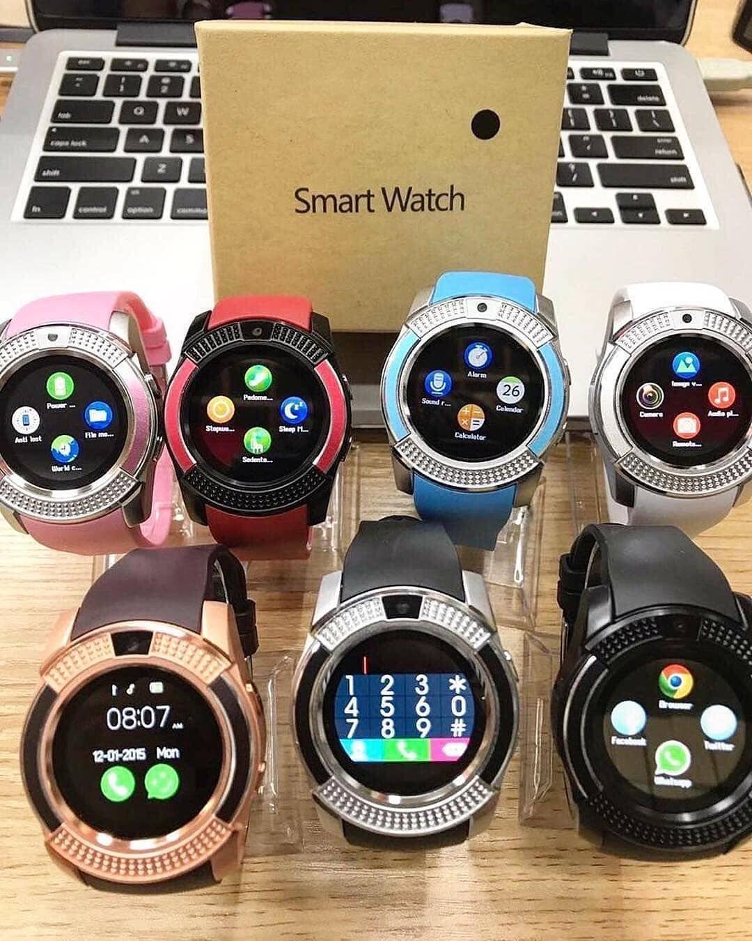 Harga : Rp 185 000 Harga : Rp 185 000   Smart Watch V8 / MIRIP