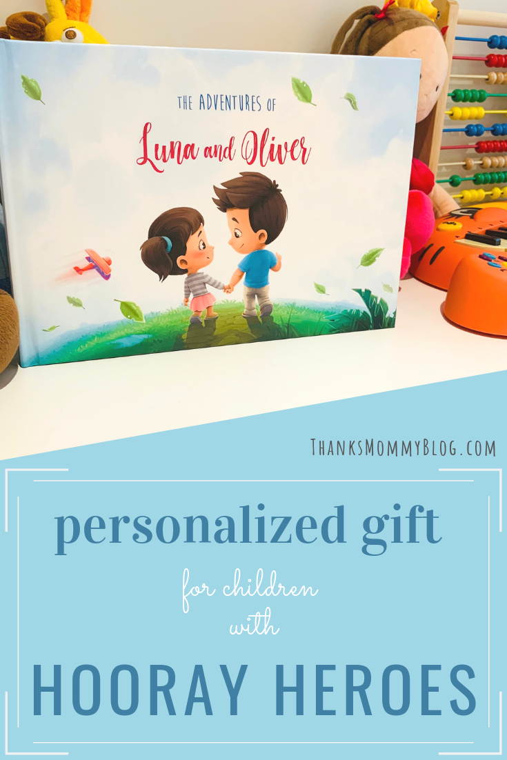Personal review of Hooray Heroes. Their personalized Sibling Adventures short stories book was a perfect gift for my kids. #hoorayheroes #personalizedgift #giftidea #giftforkids #siblingstories #siblinggift