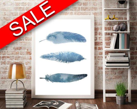 Wall Art Aquarelle Digital Print Aquarelle Poster Art Aquarelle