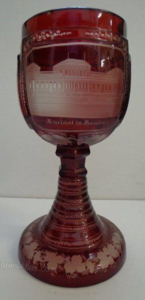 Antiques Atlas - Bohemian Glass Goblet.