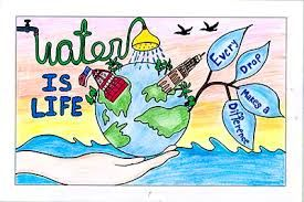 Image Result For Charts On Water Conservation For Kids Water Conservation Poster Save Water Drawing Water Conservation Projects