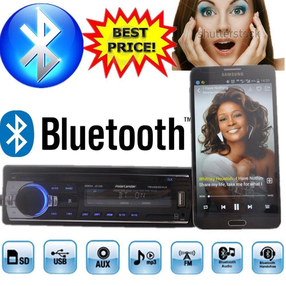 2015 new Car Radio bluetooth MP3 FM/USB/1 Din/remote