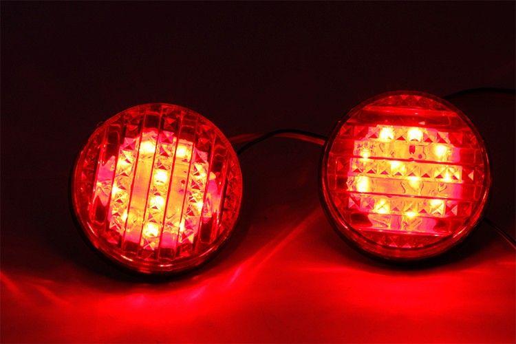 Led Rear Bumper Reflectors Light For Toyota Sequoia Car Accessories