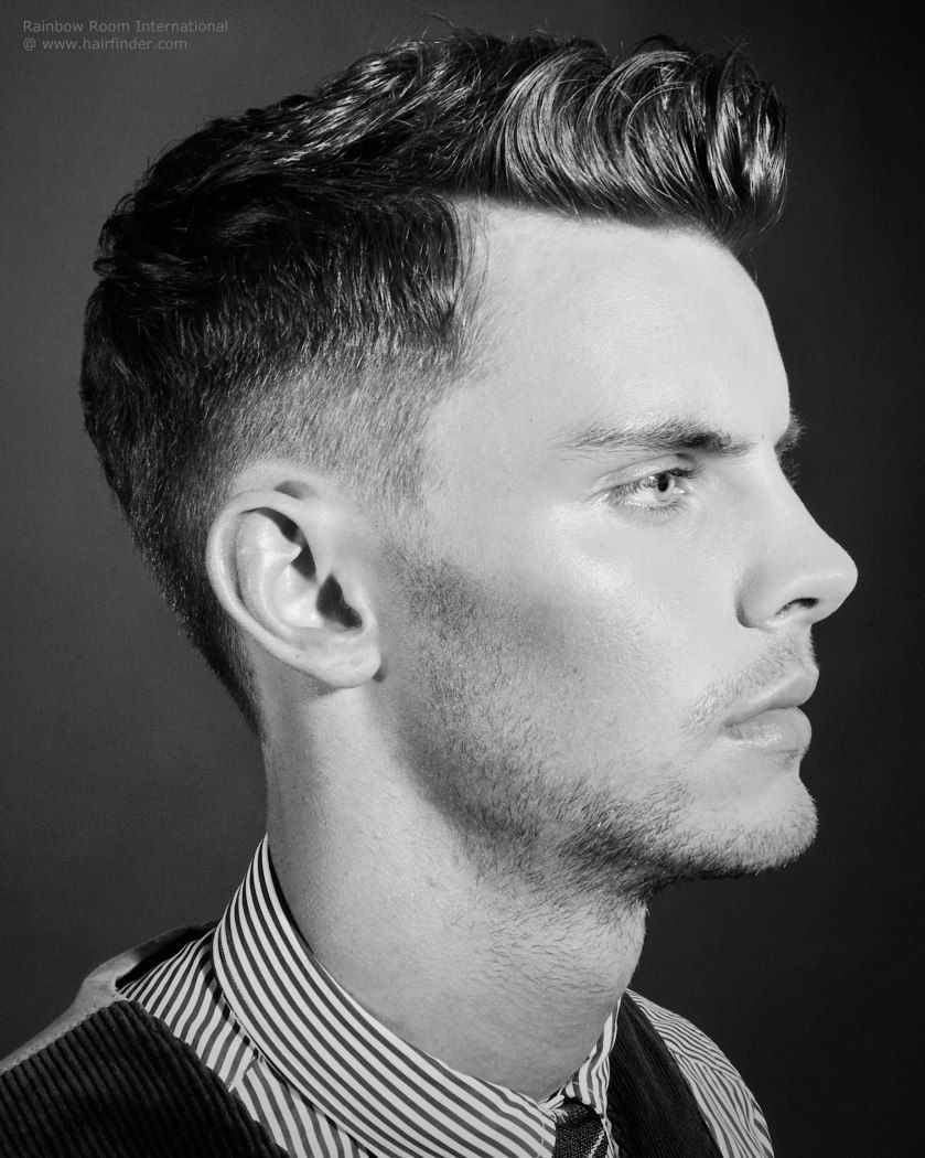 Haircut Inspired By 1940 S Herrenfrisuren Rockabilly Frisur Frisuren