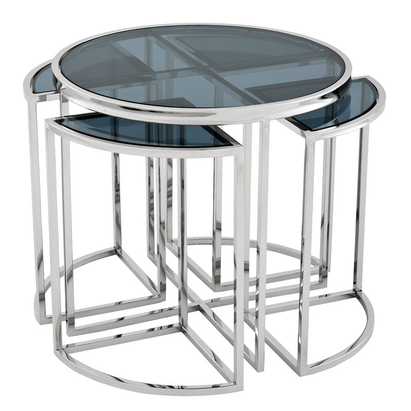 EICHHOLTZ Side Table #Vicenza stainless
