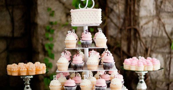 Park Tavern Wedding by carolynA events | Cupcake Wedding, Cupcake and Cake Table