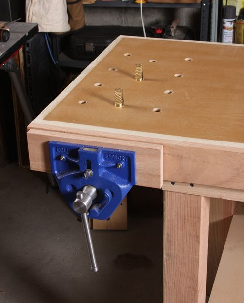 Woodworking Bench Holes
