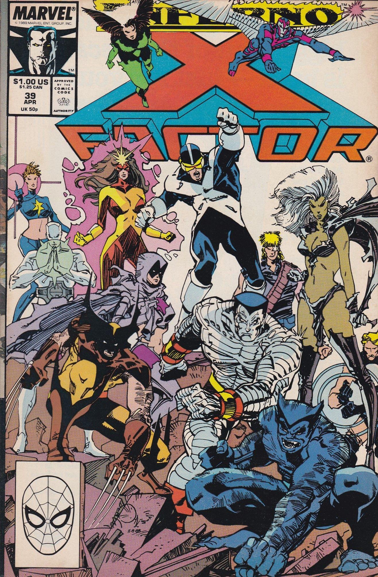 X-FACTOR #42 X-Men Marvel Comics 1989 NM