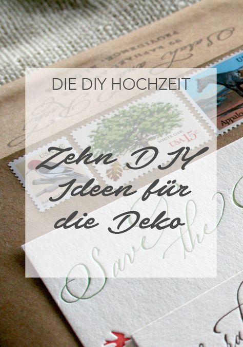 diy hochzeit 10 ideen f r die hochzeitsdeko pinterest vintage geschenke hochzeitsg ste und. Black Bedroom Furniture Sets. Home Design Ideas