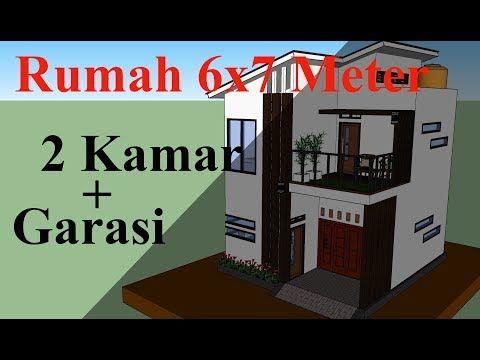 Desain Rumah Minimalis Ukuran 6x7 Cek Bahan Bangunan