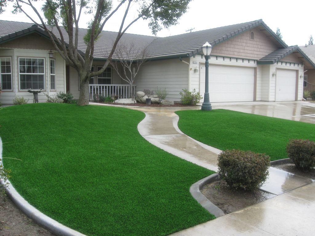 artificial grass san jose front
