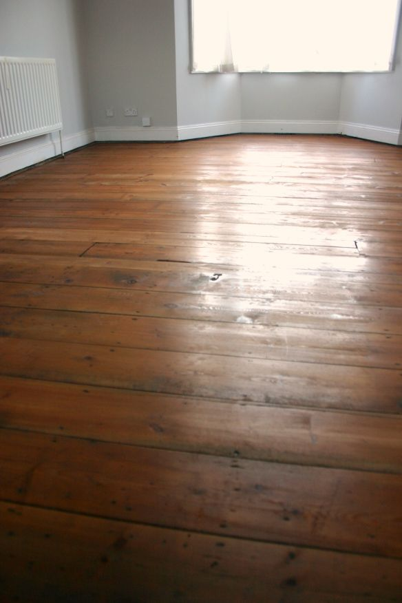 Refinishing Victorian Floorboards Close Up Osmo Polyx