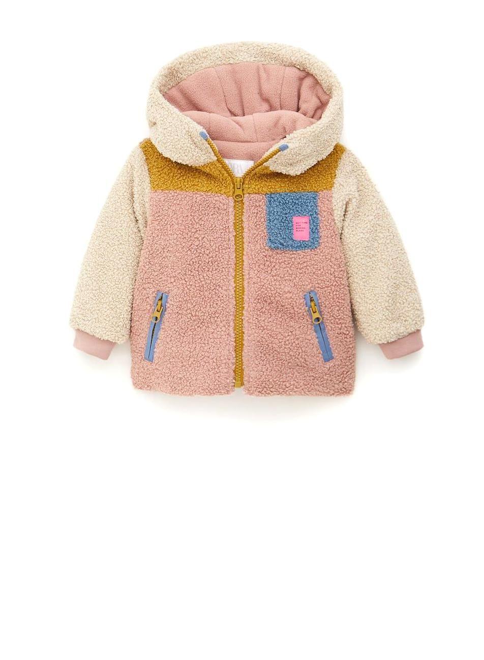 Essentials Boys Polar Fleece Color-Blocked Vests