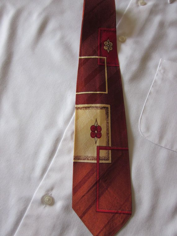 Vintage Skinny Necktie Perfect for Father's Day by MountainShine, $8.00