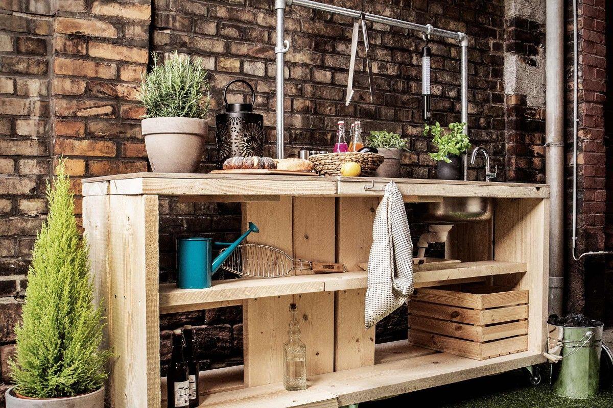 Photo of Outdoor-Küche selber bauen | Anleitung von HORNBACH