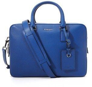 cfc8bc00eb8b Michael Kors Bryant Pebbled Leather Medium Briefcase - 7112style.website -