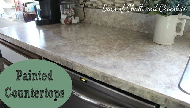 Painted Faux Stone Countertops Painting Countertops Painting