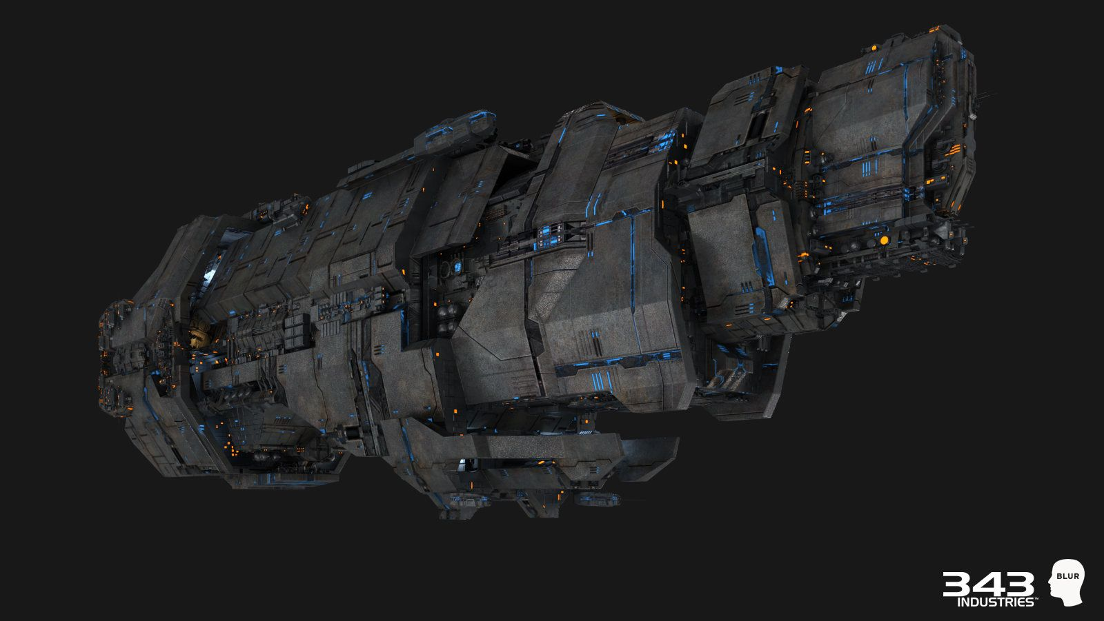 ArtStation - Halo 2 Anniversary: Spaceships, Andrew Averkin