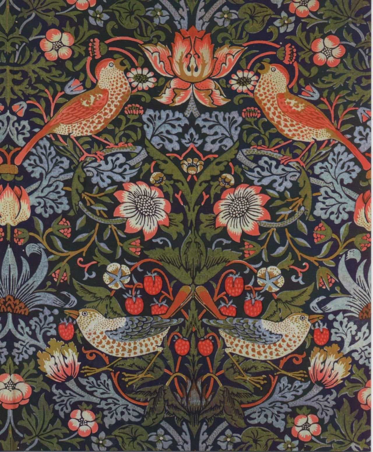 My favorite. Strawberry Thief by William Morris, 1883