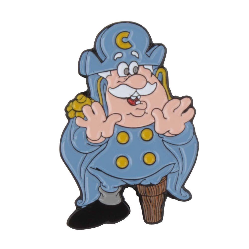 Cap'n Cornstarch Enamel Pin - Cereal Killers