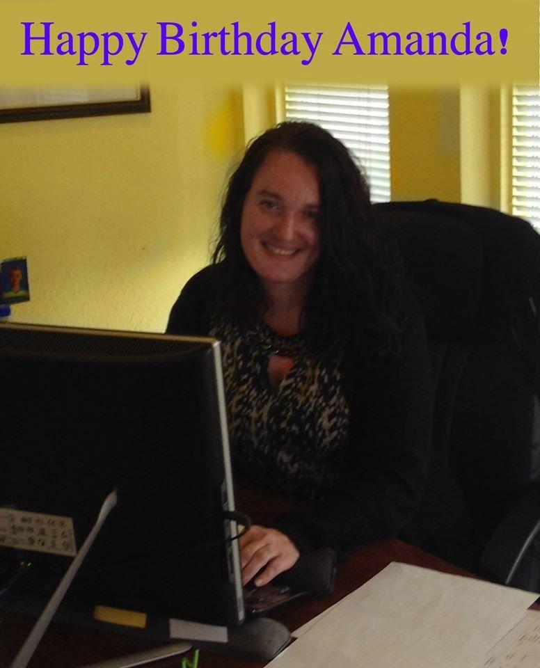 We Wish A Very Happy Birthday To Amanda Norris As Call Center