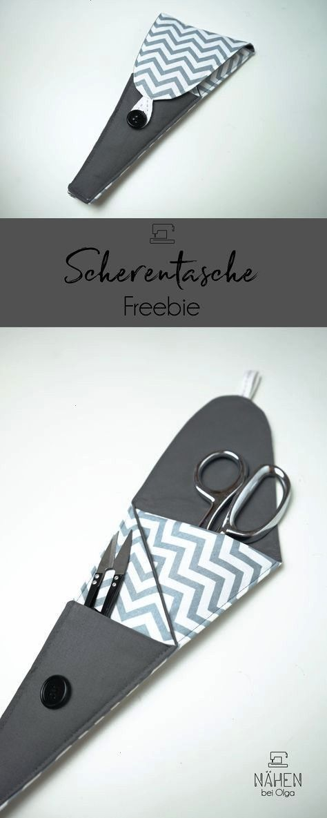 nice and practical scissors bag A freebie for everyone who needs something   A nice and practical scissors bag A freebie for everyone who wants to sew something quick in...