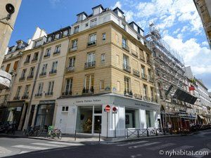 The Streets Of Sain Germain Des Pres Paris Apartments Fireplace Decor Rental Apartments